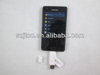 Mini 32GB Metal Rotate Smart Phone For Android OTG USB2.0  Flash Drive U-disk Pen Drive Thumb Stick Dual Port KDATA
