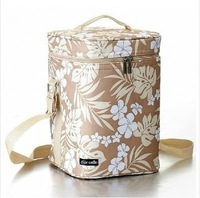Thermal insulation box/Lunch bag/bottle cooler container/ice bag/heat protecting bags/floral print bag/free shipping