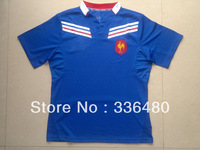 New arrival 13/14 season France home Blue best quality fans version Rugby Shirt, France Rugby football jersey