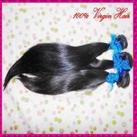 WestKiss hair products Indian straight virgin hair,100% human hair weave 3pcs lot,Grade 6A,unprocessed hair