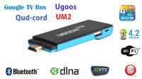 Quad-core mini PC android 4.2 TV box stick dongle UM2 RK3188 2GB/8GB Bluetooth DLNA 1080P XBMC