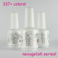 Free Shipping 12Pcs/lot 2014 New Brand Gelexus Soak Off UV LED  Nail Gel 337 Fashion Colors