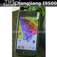 Free Shipping Changjiang S4 i9500(N9500) MTK6589 1GB+4GB Quad Core 1.2GHz Android4.2.1 5'' QHD Screen 2.0mg 8.0mg dual camera