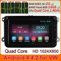 "8"" Capacitive Screen Pure Android 4.2 Car DVD for VW Passat Golf Jetta Polo Tiguan Touran caddy GPS Bluetooth Radio 3G Wifi"