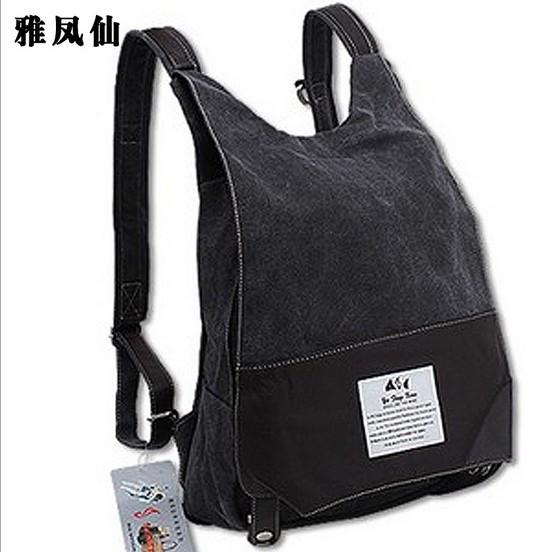 ... Canvas Backpack School Bag , Hiking Camping,Guarantee! Big capacity