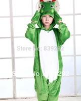 Kids frog onesies Pyjamas Cartoon Animal Cosplay Costume Pajamas Kids Onesies Sleepwear Halloween