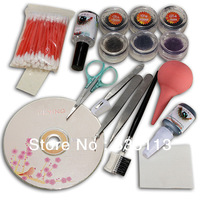 New 1set Professional Makeup Individual False Eyelash Eye Lashes Extension Cosmetic Set Kit