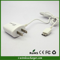 Home Wall 5V 1A Mobile Phone Travel Charger for Samsung Galaxy Note 3