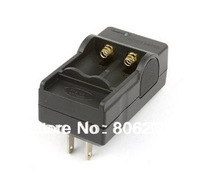 Hot sale double groove charger 16340 Rechargeable Li-Ion Battery Charger US Plug,Free Shipping