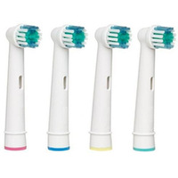 Free Shipping  (1pack=4pcs) 12000pcs B Soft Bristle Replacement Toothbrush Head Oral EB17 SB17 Professional Care Brush Heads