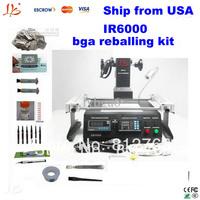 Shipping from USA,no taxes cost.IR6000 bga soldering station, Infrared heating as IR6500,bga reballing kit, bga rework station