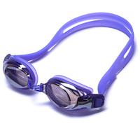 Protective anti- UV near sighted silicone swimming goggle