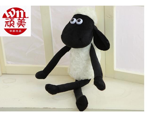 25 cm Shaun the Sheep plush toys, dolls children birthday gift girl doll alpaca press(China (Mainland))