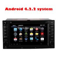 "6.2"" Android 4.2 universal Car DVD Player for kia ceed Cerato Sportage Sorento Spectra Optima Rondo Rio Sedona Carens Audio"