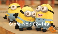 3pcs/set Despicable Me Daddy Little Thief 2 Huangren Gong Tsai Huang Doudou Genuine Anime Doll For Christmas