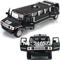 Free shipping lengthen car model acoustooptical alloy car toy  2014 new toys for children mini cooper