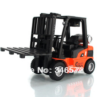 Free shipping Ytgf forklift forkfuls engineering car truck plain alloy car model toy  Wholesale