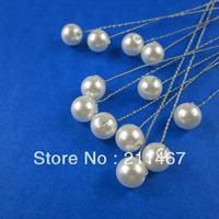 Free Shipping High Quality Pearls Wedding Flower Accessories Wedding Bouquets Bridal Stem 50pcs/lot