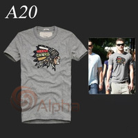 Free Shipping 100% Cotton Mens High Quality T-shirts Summer Short Sleeve Male Fashion Tee Shirts Sporty Clothing S--XL