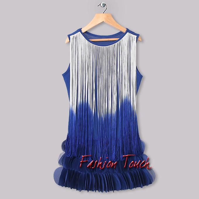 2015 New Girls Dresses Kids Blue Ribbon Polyester Chiffon Dress For Children Wear Kids Flower Dress Hot Sellers GD31115-43^^FT(China (Mainland))