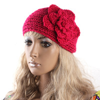 Women Girl Headband Hair Band Women Knit Crochet Headwrap 12Colors Wool Bands For HairFD0013