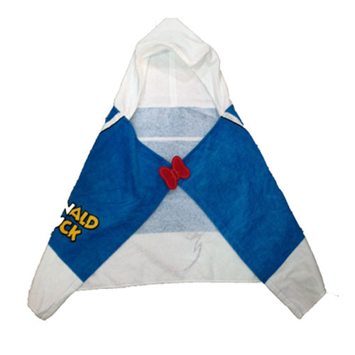 Free Shipping Kid's Blue Beach Hooded Towel Wrap 100% Cotton - Cotton Hooded Bath, Pool or Beach Towel(China (Mainland))