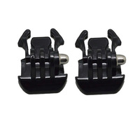 Quick-Release black Buckle basic Mount Base For Gopro 1 2 3 SupTig Camera 2pcs wholesale Gopro Accessories  free shipping