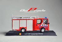 Genuine boxed! Delprado. Alloy car models. Germany Schmitz. Fire truck. Children's toys, ornaments. Specials!