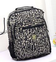 KP-B044 newly 2014 hot water resistant nylon printing zipper backpack women girls backpack free shipping