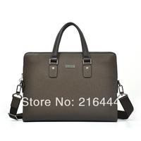 100% genuine leather laptop bag wholesale,high end computer bag for business men,style laptop shoulder bag design free shipping