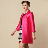 2013 autumn and winter overcoat fashion outerwear trench  Dust coat