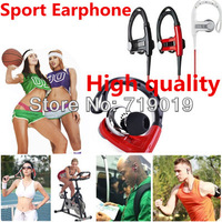 New Arrival High quality Sport Earphones Power Super Bass headset  with In Ear Hook,headphone