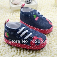 Free shipping wholesale 2014 fashion Cowboy princess baby shoes, baby shoes toddler baby soft bottom shoes trade baby shoes