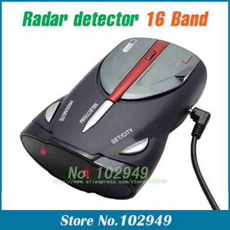 2014 NEW CAR Radar detector Cobra XRS 9880 car Radar detector 16 Band supporting English+Russian language Voice(China (Mainland))
