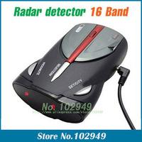 2014 NEW CAR Radar detector Cobra XRS 9880 car Radar detector 16 Band supporting English+Russian language Voice