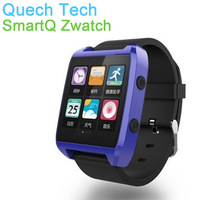 "Android 4.3 Smart Watch Tablet SmartQ Zwatch 4GB Flash Memory 512MB Mobile DDR 1.54"" Capacitive Screen WIFI Bluetooth 1.0GHz CPU"
