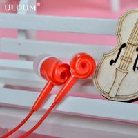 ULDUM new design  rose plastic earphone factory supply