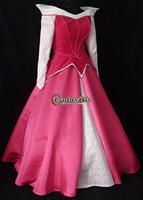 New Arrival Cheap Custom Made Adult Sleeping Beauty Dress Princess Dress Parks Version Costume