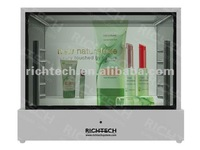 22'' cosmetic display with three sides presentation to attract customers with lowest price