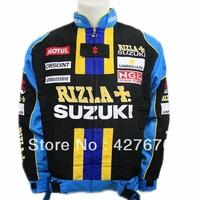 2014Blouson SUZUKI GSXR MOTO RACING BLEU NEUF