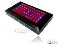 Hydroponics lighting 85-265V 55x3w Full Band Black LEDS Hydroponic LED Plant Grow Lights led bulb LED LIGHT