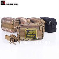JUNGLE MAN TACTICAL OUTDOOR PORTABLE SHOULDER BAG WAIST POUCH MESS POUCH MULTI COLORS