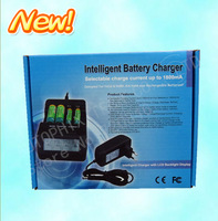 Intelligent Battery Charger Selectable charge  Ni-MH / Ni-Cd AA AAA