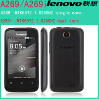 Original Lenovo A269 A269i 3.5Inch MTK6572  Android 2.3 3G WiFi  Smartphone