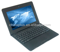 VIA8880 CPU 1.5GHZ 512M RAM 4G ROM Camera HMDI optional color 10 inch cheap china laptop