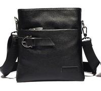 men casual shoulder bag cowhide cross-body bag business bag men's bag leather brand name style