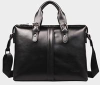 Commercial men bags of leather  one shoulder handbag  leather briefcase men laptop document men's briefcase