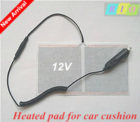 12V heated pad for car cushion car seat covers + cigarette lighter / heated carbon fibers element electric heated pad RIO26