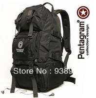 Pentagram 40L High Quality Backpack Waterproof Rider Double-Shoulder Mountaineering Bag Backpack Large Capacity Travel Bag D201