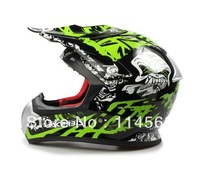 ACERID Ultra Light 1320g Real Composite Material Motocross helmet motorcycle racing White Red Green